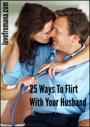 How To Deal With A Flirting Husband