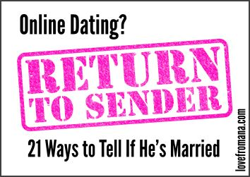 Online Dating How To Tell If He Is Married