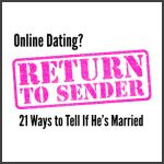 Online Dating: How To Tell If He's Married