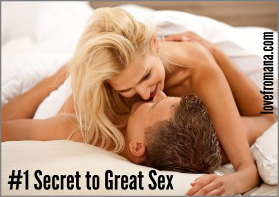 Number 1 Secret To Great Sex
