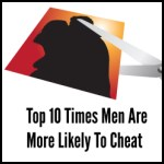 Top 10 Times Men Are More Likely To Cheat