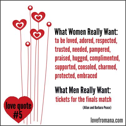 relationship quote: what women really want, Ideas