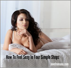 4 steps to feel sexy