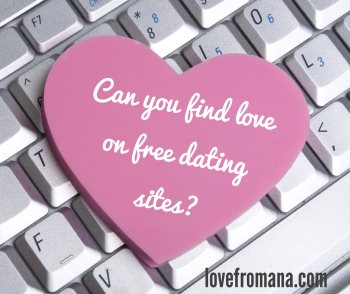 Can you find love on free online dating sites?