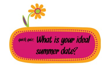 quick quiz ideal summer date