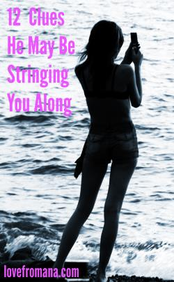 stringing you along
