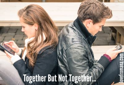 together but not together