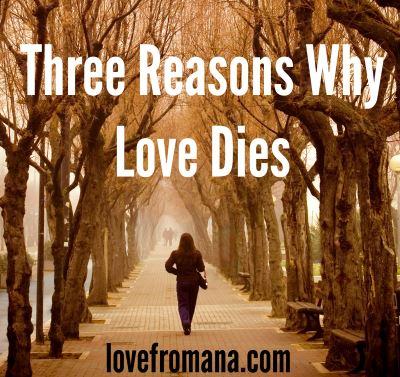 why love dies