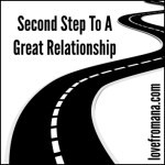 Second Step To A Great Relationship